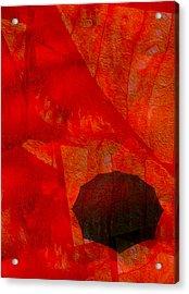 Umbrella Acrylic Print by Jack Zulli