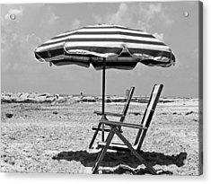 Umbrella Shade Acrylic Print
