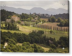 Acrylic Print featuring the photograph Umbria by Uri Baruch