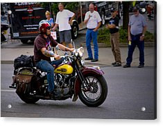 Un-named Crosscountry Harley Acrylic Print