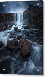 Una Cascada. Acrylic Print