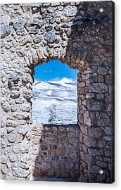 A Window On The World Acrylic Print by Andrea Mazzocchetti