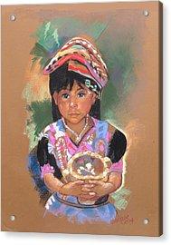 Una  Nuevo Poco Vendedor Guatemalan Acrylic Print