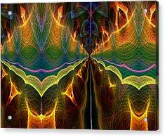 Acrylic Print featuring the digital art Unbalanced Mind by Owlspook