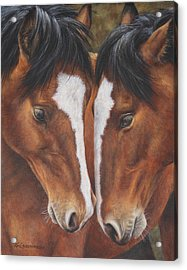 Unbridled Affection Acrylic Print
