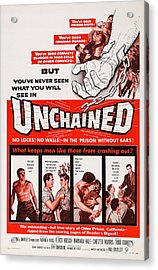 Unchained, Us Poster Art, 1955 Acrylic Print