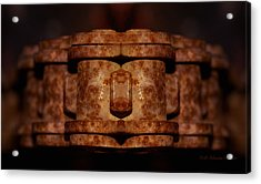 Acrylic Print featuring the photograph Unchained by WB Johnston