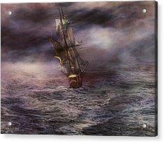 Uncharted Waters Acrylic Print