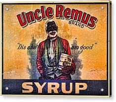 Uncle Remus  Acrylic Print by Lee Dos Santos