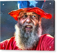 Uncle Sam Acrylic Print