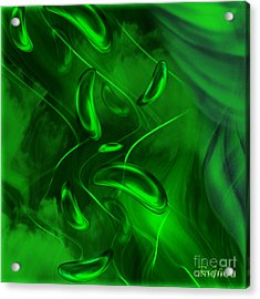 Acrylic Print featuring the digital art Unconditional Love - Abstract Art By Giada Rossi by Giada Rossi