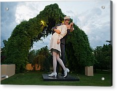 Unconditional Surrender Acrylic Print