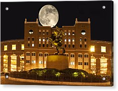 Unconquered Doak Campbell Full Moon Acrylic Print by Frank Feliciano