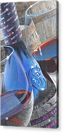 Uncorked II Acrylic Print by Will Enns