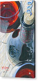 Uncorked Acrylic Print by Will Enns