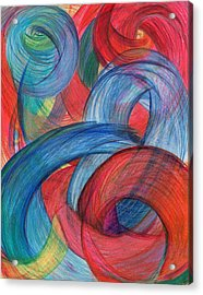 Uncovered Curves-vertical Acrylic Print