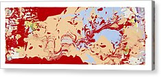 Uncovered Gems Acrylic Print by Michael Filan