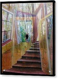 und hol mir den Herbst ins Haus Acrylic Print by Gertrude Scheffler