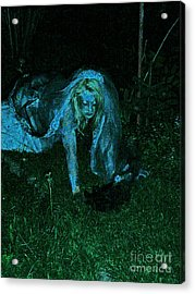 Undead Love Acrylic Print by First Star Art