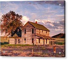 Under A Nebraska Sky Acrylic Print