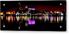 Under Armour At Night Acrylic Print