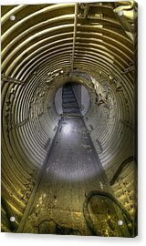 Under Bunker Acrylic Print by Nathan Wright