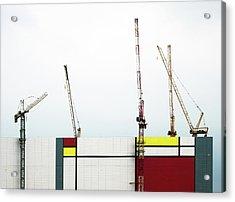 Under Construction Acrylic Print