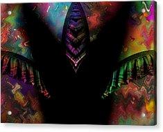 Under Her Skirt Acrylic Print by Steve K