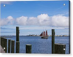 Acrylic Print featuring the photograph Under Sail by Gregg Southard