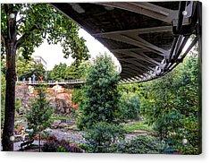 Under The Bridge Acrylic Print