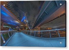 Under The Bridge Downtown Acrylic Print