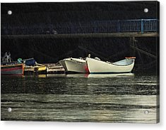 Acrylic Print featuring the photograph Under The Bridge by Laura Ragland