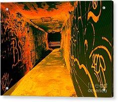 Under The Bridge Acrylic Print by Ze DaLuz