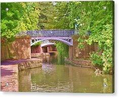 Under The Bridges Acrylic Print