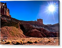 Under The Capitol Sun Acrylic Print