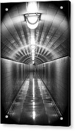 Under The Dam Acrylic Print by Yousif Hadaya