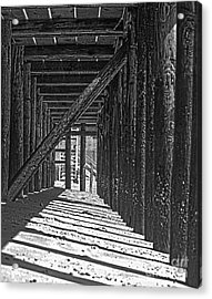 Under The Deck Acrylic Print