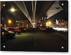 Under The Flyover  Acrylic Print by Sumit Mehndiratta