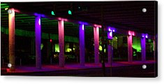 Under The Freeway Acrylic Print by Mountain Femme