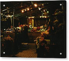 Under The Lights Acrylic Print by Brian Nogueira