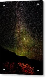 Under The Milky Way Acrylic Print by Greg Norrell