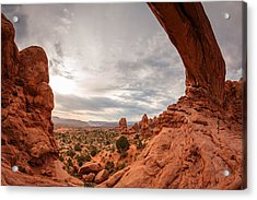 Acrylic Print featuring the photograph Under The North Window by Dan Mihai