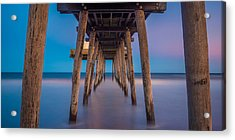 Under The Pier - Wide Version Acrylic Print