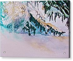 Under The Pines Acrylic Print