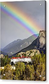 Under The Rainbow Acrylic Print