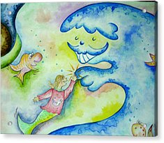 Under The Sea -2 Acrylic Print by Asida Cheng