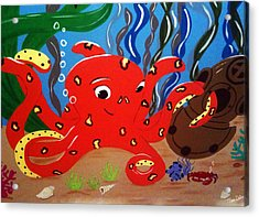 Under The Sea Acrylic Print by Tami Dalton