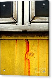 Acrylic Print featuring the photograph Under The Sill by Robert Riordan