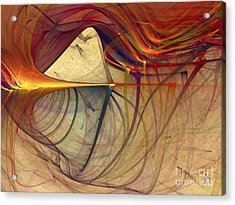 Under The Skin-abstract Art Acrylic Print