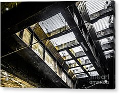 Under The Street Acrylic Print by Diane Diederich